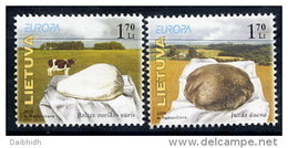 LITHUANIA 2005 Europa: Gastronomy MNH / **.  Michel 871-72 - Lithuania