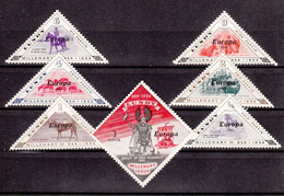 Lundy  - Europa 1961 7v Unmounted Mint NHM - Local Issues