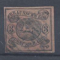 BRUNSWICK - 1853-65 - N° 9 - Oblitéré - Cote 120 € - B/TB - - Braunschweig