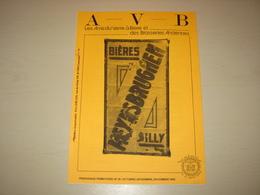 Anc. Magazine AVB - Histoire De Brasserie FRANCOIS à Cerfontaine + Brasseries D' Hyon, Ciply, Mesvin, Harveng, Silly,... - Andere