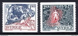 SWEDEN 1981 Europa: Folklore MNH / **.  Michel 1141-42 - Sweden