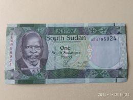 1 Pound 2011 - Sudan Del Sud