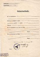 Geburtsurkunde 1936 - Historische Dokumente