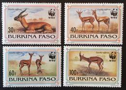 Burkina Faso 1993 World Wildlife Fund POSTAGE FEE TO BE ADDED ON ALL ITEMS - Burkina Faso (1984-...)