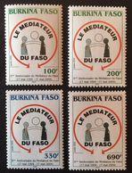 Burkina Faso  2005  Mediator Of Faso 10th.Anniv. - Burkina Faso (1984-...)