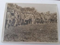 FRONTE ITALIANO 1°GM Prigionieri Austriaci PRESI Da ESERCITO INGLESE In ITALIA-foto Originale B/N Governativa-L738 - Krieg, Militär