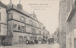 Montbard - Hotel Vinay      (A-68-100911) - Montbard