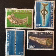 Burkina Faso 2004 Musical Instruments - Burkina Faso (1984-...)