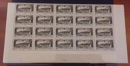GUYANE FRANCAISE - BEAU LOT DE 7 BLOCS DE 20 TIMBRES NEUFS** LUXES SANS CHARNIERE POSTE AERIENNE - VOIR SCANNS - Guyane Française (1886-1949)