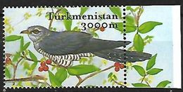 Turkmenistan -2002 - MNH - Common Cuckoo (Cuculus Canorus - Zangvogels