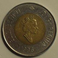 1996 - Canada - 2 DOLLARS, ELIZABETH II, KM 270 - Canada