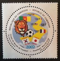 Cameroon 2002 World Cup Soccer POSTAGE FEE TO BE ADDED ON ALL ITEMS - Cameroon (1960-...)