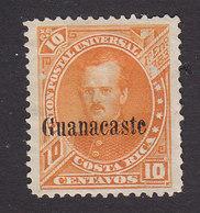 Costa Rica, Guanacaste, Scott #3, Mint No Gum, Fernandez Overprinted, Issued 1885 - Costa Rica