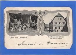ALLEMAGNE - Gruss Aus GEINSHEIM, Gasthaus Zum Löwen, Eduard Schulz - Autres