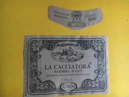 5693 -  La Cacciatora 1986 Barbera D'Asti Italie - Hunting