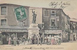 Gigean - Place Du 4 Septembre       (A-68-100911) - Autres Communes
