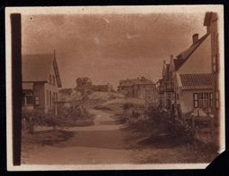 AUTHENTIEKE FOTO 1897 - BELGISCHE KUST -  DE PANNE ? - 12 X 8.5cm PHOTO AUTHENTIQUE - België