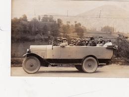 CPA-PHOTO Carte-Photo Voiture à Identifie Véhicule Automobile Locomotion Transportation - Cartoline