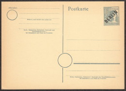BER P 2 D M 1949 12pf Laborer W/black Overprint - [5] Berlin