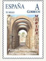 "Spain 2009– España ""Tu Sello"". Sello Personalizado De La Puerta Principal Del Anfiteatro Romano De Mérida - Non Classificati"