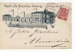 3360 CASALE MONFERRATO GATTI X ALESSANDRIA - 1900-44 Vittorio Emanuele III