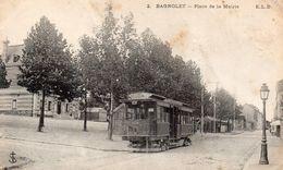 CPA BAGNOLET - PLACE DE LA MAIRIE - Bagnolet
