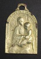 Vignette Médailles Journée Des Orphelins Signée Ch Foester 1916 - Insignes & Rubans