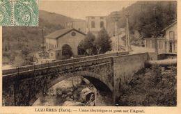 81 Luzieres Usine électrique Et Pont Sur L'Agout - Francia