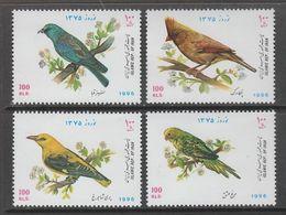 SERIE NEUVE D'IRAN - OISEAUX DIVERS N° Y&T 2430 A 2433 - Collections, Lots & Séries