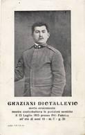 3376 GRAZIANI DIOTALLEVIO DECEDUTO PRESSO PRI-FABRISU Ia GUERRA MONDIALE - Guerra 1914-18