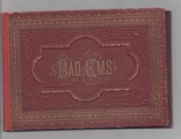 BAD EMS - Dépliant De 18 Photos - Bad Ems