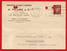 """ROANNE - 1942 - """"CELEBREZ LE 30 AOUT L'ANNIVERSAIRE DE LA LEGION"""" - 1921-1960: Modern Period"""