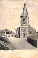 Oteppe - L'Eglise (animée,...taches) - Burdinne