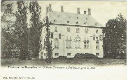 Pepingen. Environs De Bruxelles. Château Termeeren à Pepinghen Près De Hal. - Pepingen