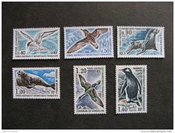 TAAF: TB Serie N° 55 Au N° 60, Neufs XX. - Terre Australi E Antartiche Francesi (TAAF)