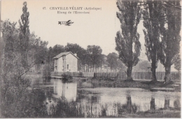 Bm - Cpa CHAVILLE VELIZY - Etang De L'Ecrevisse (avion) - Chaville