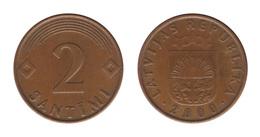 Latvia / 2000 / 2 Santimi / KM: 21 / XF - Lettonie