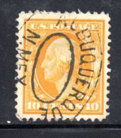 T1875 - STATI UNITI 1908 , 10 Cent  Usato Yvert N. 174 - Used Stamps