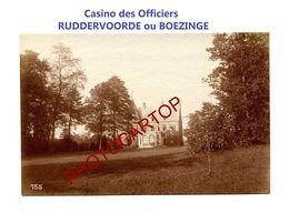 RUDDERVOORDE Ou BOEZINGE-Casino Des Officiers-PHOTO Mate All.-Cliche 755-Inf. Regt.182-GUERRE 14-18-1 WK-Militaria- - Oostkamp