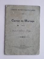 Carnet De MARIAGE MOUSTIER-sur-SAMBRE De Victor ALLARD / RAZE Léopoldine - 22 Juillet 1882 ( Details Zie Foto ) ! - Old Paper