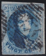 Belgie       .       OBP    .     7A       .         O         .    Gebruikt   .     /      .       Oblitéré - 1851-1857 Médaillons (6/8)