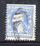 T1879 - STATI UNITI 1908 , 15 Cent  Usato Yvert N. 176 - Usati