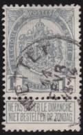 Belgie       .       OBP    .       53        .         O         .    Gebruikt   .     /      .       Oblitéré - 1893-1900 Schmaler Bart