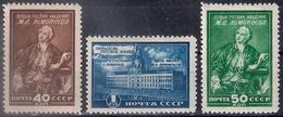 Russia 1949, Michel Nr 1311-13, MLH OG - Neufs