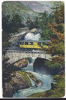 BERNINABAHN: Zug Nähe Morteratsch ~~~1910 - GR Grisons