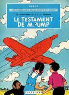 Hergé Le Testament De M.Pump - Hergé