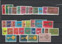 EUROPA NEUFS  ANNEE COMPLETE 1968 - Europa-CEPT