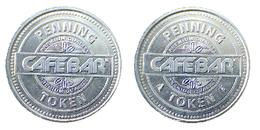 00153 GETTONE JETON TOKEN NETHERLANDS DISPENSER MACHINE CAFFE COFFEE KOFFEE CAFEBAR - Netherland