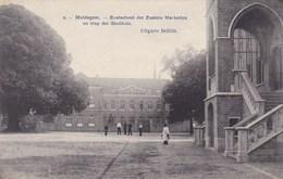 Maldegem, Maldeghem, Kostschool Der Zusters Maricolen En Trap Der Stadhuis (pk42363) - Maldegem