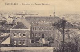 Maldegem, Maldeghem, Kostschool Der Zusters Maricolen En Trap Der Stadhuis (pk42364) - Maldegem